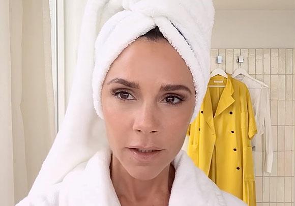 Урок макияжа от Виктории Бэкхем: видео