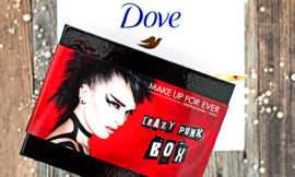 Allurebox: Crazy Punk Box – Make Up For Ever, Dove Box. Отзыв