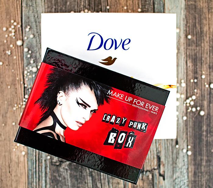 Allurebox: Crazy Punk Box – Make Up For Ever, Dove Box. Отзыв
