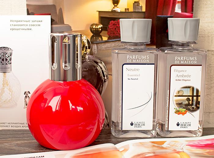 Lampe Berger: от простой горелки к дизайнерскому аксессуару. История марки и отзыв