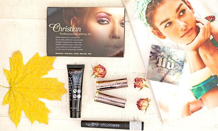 Пошаговый макияж с косметикой Puro Bio, Christian Faye, Urban Decay. Отзыв