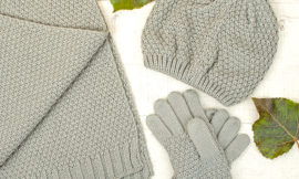 Faberlic – шапка, шарф, перчатки для девочек. Отзыв
