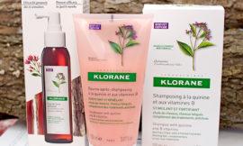 Klorane — укрепляющий шампунь, бальзам и концентрат от выпадения волос с экстрактом хинина. Отзыв
