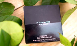 Тени MAC A Medley of Mauves Mineralize Eyeshadow Quad. Отзыв