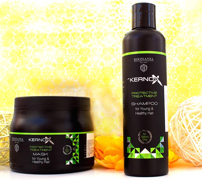 Egomania – шампунь и маска для защиты волос и блеска Kernox Ecolamination. Отзыв
