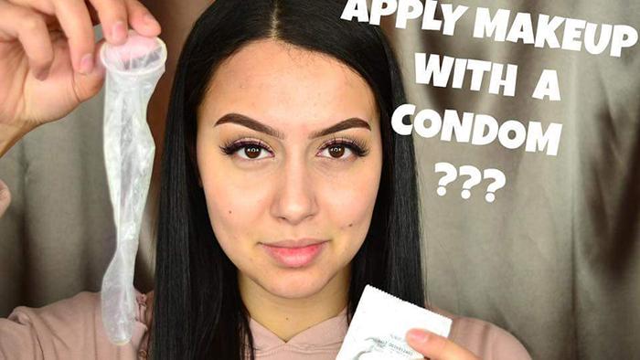 Beautyblender в презервативе: зачем бьюти-блогеры его туда засунули?