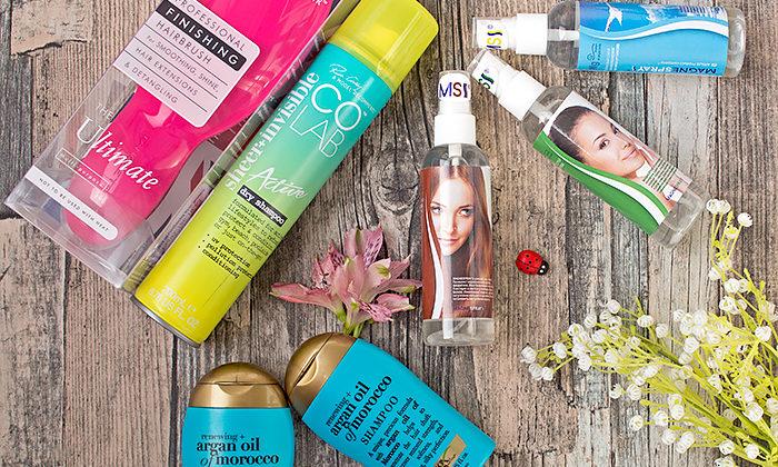 Мой весенний уход за волосами: Ogx, Colab, Tangle Teezer, Magnespray. Подробный отзыв