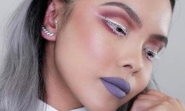Новый тренд макияжа – стрелка из точек – макияж-дотс