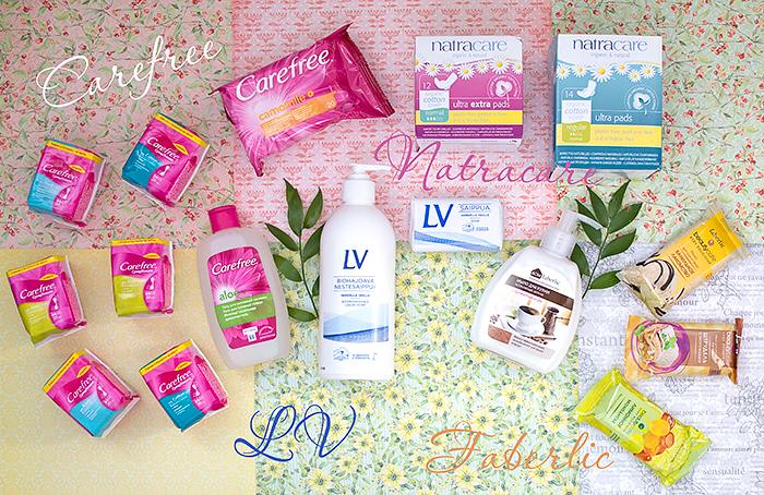 Необходимые атрибуты чистоты: отзыв о разных продуктах LV, Carefree, Natracare, Faberlic