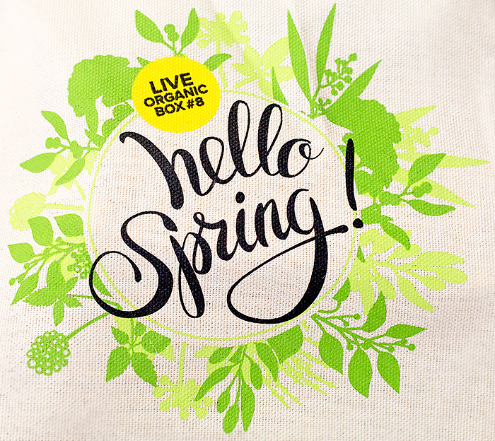 Live Organic Box 8: Hello, Spring. Отзыв