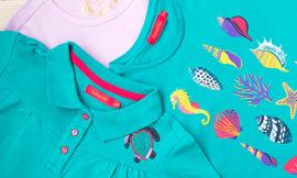 Faberlic – поло и две футболки для девочки. Отзыв