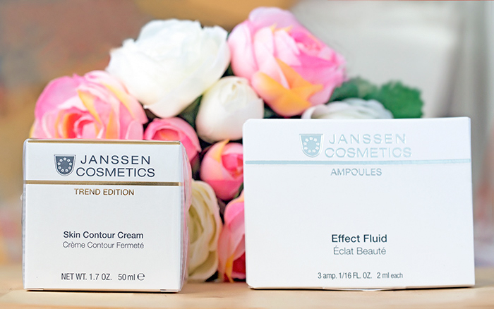 Janssen Cosmetics — Skin Contour Cream Обогащенный anti-age лифтинг-крем. Отзыв