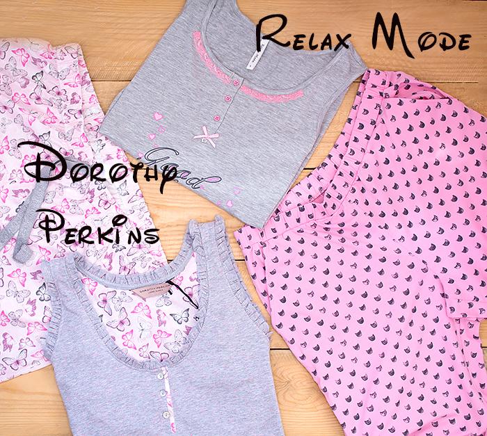 Пижама для лета: две модели Relax Mode и Dorothy Perkins. Отзыв