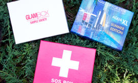 Glambox июнь, Make Up For Ever Aqua XL Summer Edition Box, SOS Box. Отзыв