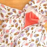 Faberlic – Ветровка с капюшоном для девочки, вязаный джемпер с высоким воротом. Отзыв