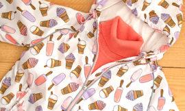 Faberlic — Ветровка с капюшоном для девочки, вязаный джемпер с высоким воротом. Отзыв