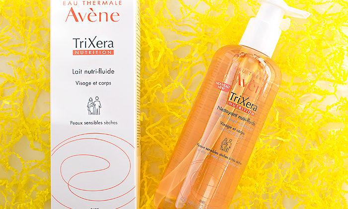 Уход за телом осенью: Avene Trixera Легкий питательный очищающий гель и молочко. Отзыв