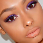 Фиолетовые тени – новый хит в макияже глаз