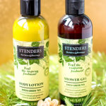 Stenders – гель для душа с экстрактом березовых листьев и зеленого чая и березовый лосьон для тела с экстрактом зеленого чая. Отзыв