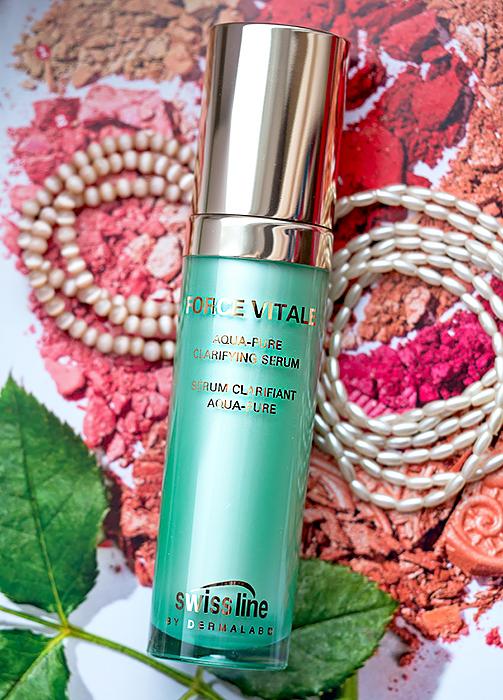 Swiss Line Force Vitale Aqua-Pure Clarifying Serum - себорегулирующая увлажняющая сыворотка для смешанной и жирной кожи. Отзыв