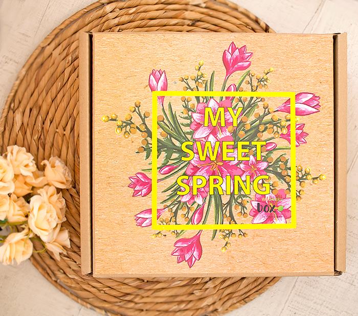 We Green Box – My Sweet Spring: Green Box Mix. Отзыв