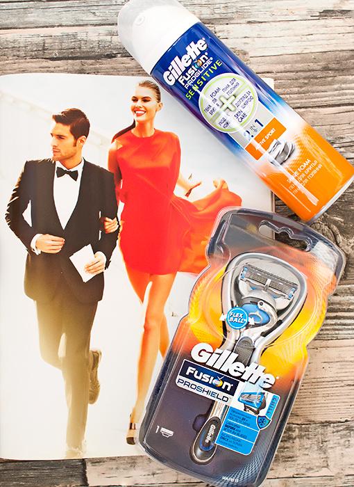 Бритва Gillette Fusion ProGlide Chill с технологией FlexBall, пена для бритья. Отзыв
