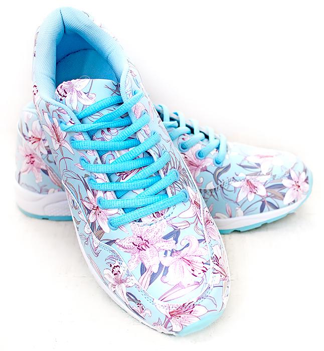 Faberlic кроссовки Lily голубые. Отзыв