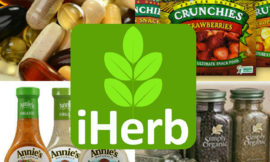 iHerb: промокоды на 10% скидку + 10% бонус лояльности