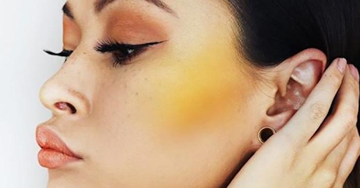 Желтые румяна: это модно! Как наносить, с чем сочетать