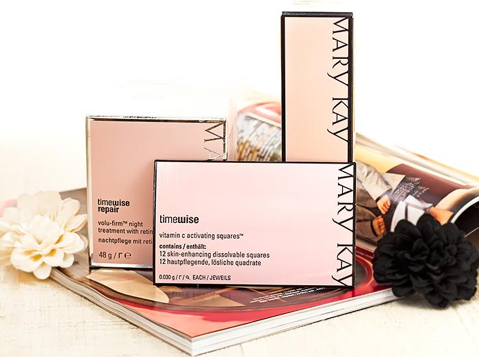 Сыворотка, крем с ретинолом и растворимые полоски с витамином С от Mary Kay. Отзыв