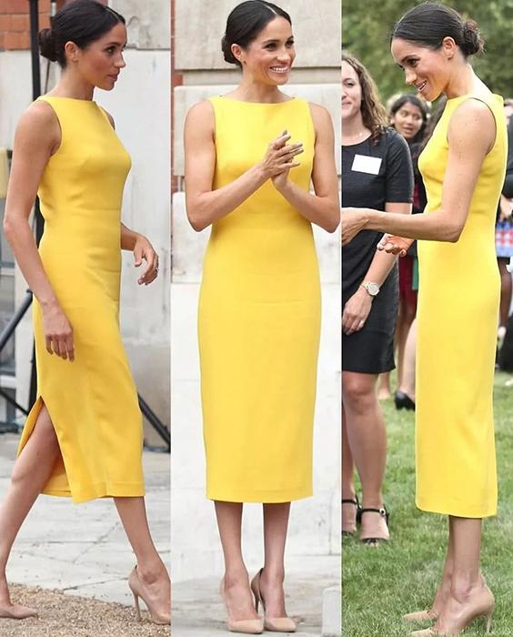 Почему герцогиня Меган не носит платья от Виктории Бекхэм