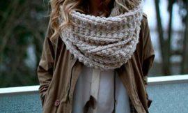 Как шарф влияет на кожу лица зимой