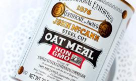 Ирландская овсянка McCann's Irish Oatmeal Steel Cut в железной банке. Отзыв