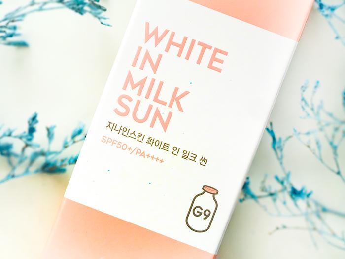 Еще один отличный санскин с iHerb – G9skin White In Milk. Отзыв