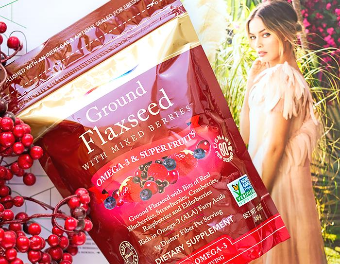 Полезное с iHerb: Spectrum Essentials - молотые семена льна со смесью ягод. Отзыв