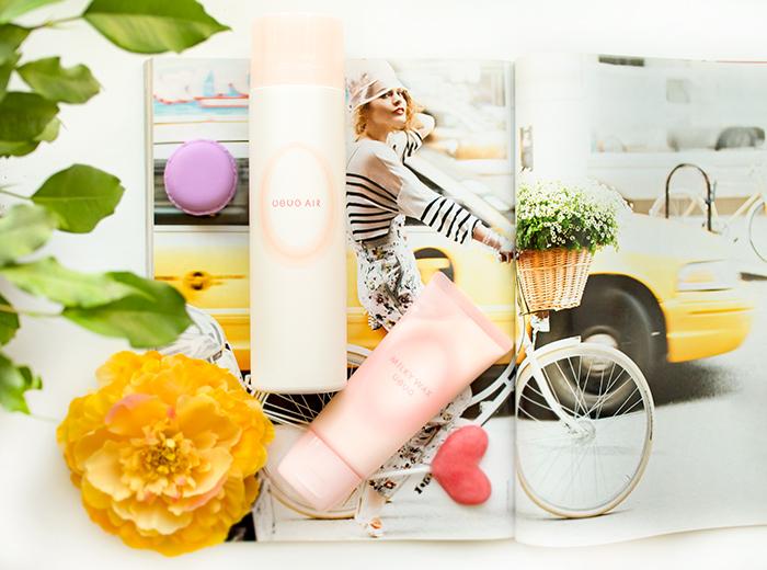 Demi спрей Uevo Pink Air и воск-крем для волос Pink Milky Wax. Отзыв