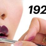 Помада: как менялась мода на оттенки и способы нанесения за последние 100 лет