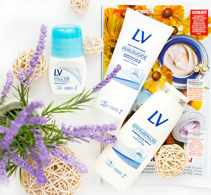 Гипоаллергенная косметика LV: базовый и увлажняющий кремы, антиперспирант. Отзыв