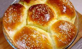 Булочка ромашка: обычный рецепт и рецепт для хлебопечки