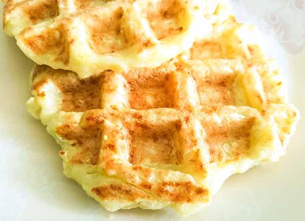 ПП вафли из кабачков: рецепт для мультипекаря и для плиты