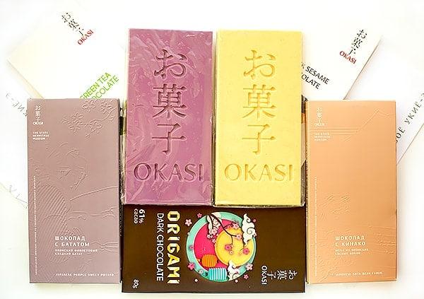 Чего бы необычного заказать на Озоне: японский шоколад Okasi. Отзыв