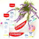 Зубная паста Colgate 0% Мягкое Очищение от кариеса и Бодрящая Свежесть от кариеса. Отзыв