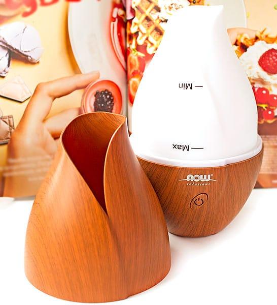 Аромадиффузор-увлажнитель Now Foods с iHerb. Отзыв