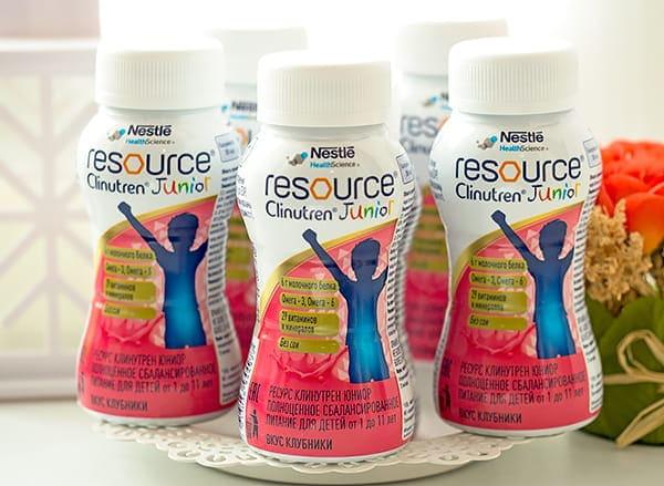 Молочная смесь Resource Clinutren Junior. Отзыв