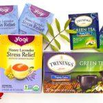 Травяной успокаивающий чай от стресса Twinings и Yogi Tea. Отзыв