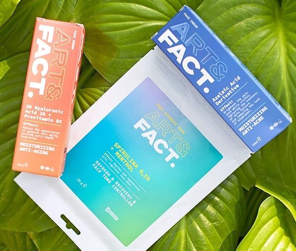 Уход за лицом ART&FACT: отзыв и дополнительная 20% скидка на все