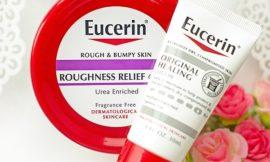 Два отличных средства от сухости кожи Eucerin – крем и лосьон. Отзыв